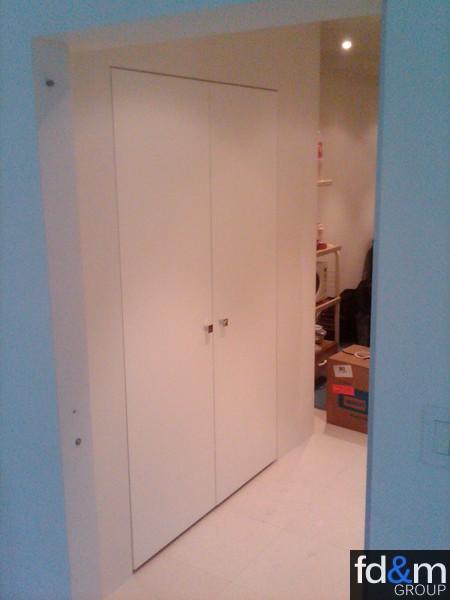 ... Frameless Closet Doors ...