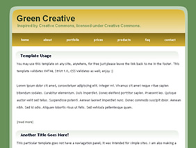 CSS Templates and XHTML Template for free - Download Now